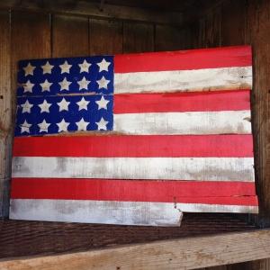 Pallet Wood Flag